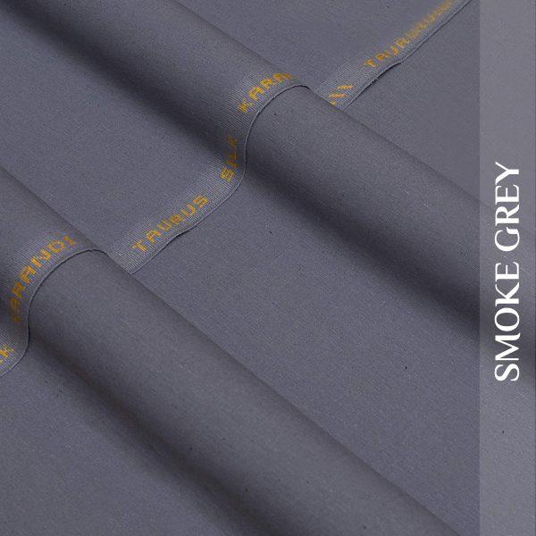 Smoke Grey-Silk-Karandi