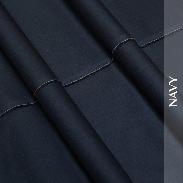 Silk fancy Navy